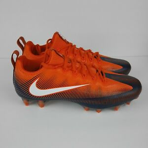 Nike Vapor Untouchable Pro Football Cleats White Blue Orange Men S Size 11 5 Ebay