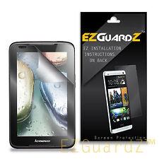 1X EZguardz Clear Screen Protector Shield 1X For Lenovo Ideatab A1000