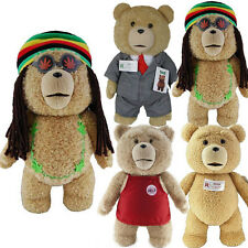 """12"""" OFFICIAL TALKING TED MOVIE TEDDY BEAR WITH SOUND PLUSH CUDDLY SOFT TOY KIDS"""