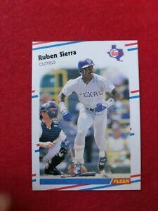 BASEBALL-TRADING-CARD-FLEER-1988-479-RUBEN-SIERRA-SS63