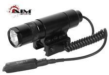 90 Lumens Flashlight w/Rail Mount & Pressure Switch for Rifle, Shotgun, Pistol