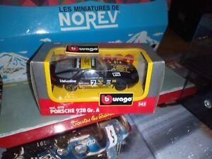 BURAGO-1-43-PORSCHE-928-GR-A-RALLY-7-NEUF-EN-BOITE