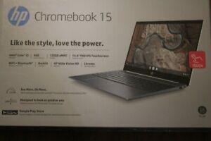 "HP Chromebook 15.6"" Full HD Touchscreen, i3-8130U, 4G, 128G,Backlit, 15-de0518wm"