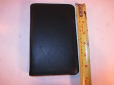 Classic Black Leather Franklin Covey Day Planner Binder Nappa Leather Made Usa