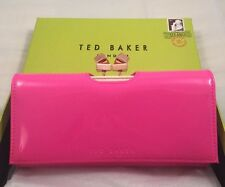 Ted Baker Metal Cube Patent Matinee Mid Pink With Box