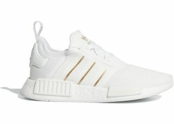 Size 8 - adidas NMD R1 White Rose Gold Metallic for sale online | eBay
