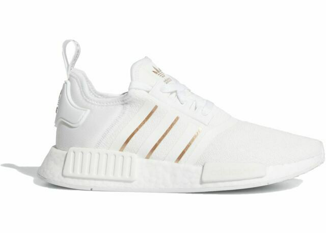 Size 10 - adidas NMD R1 White Rose Gold Metallic for sale online ...