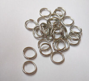 Plated Sea Fishing Split Rings All Sizes 3.5 4.0 4.5 5.0 7.0 8.0 10.0mm