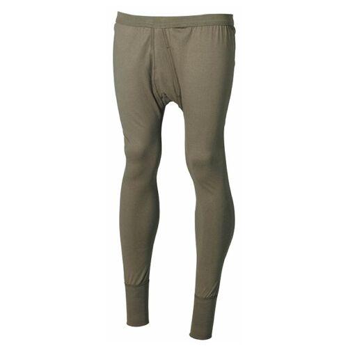 Army BW USA army pantaloni lunghi sotto Thermo-Biancheria Intima Cotone Elastico