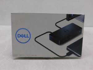 Lot of 4 Dell Universal Dock D3100 USB 3.0 UHD 4K HDMI Triple Display Universal