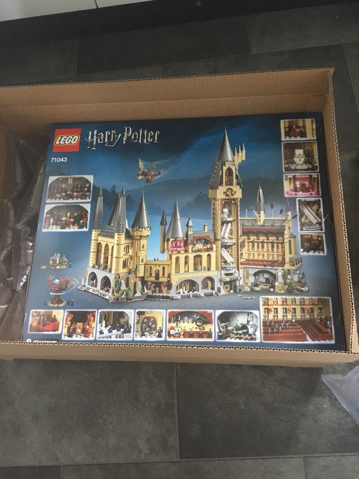 Lego Poudlard Castle 71043-NEUF boîte scellée -