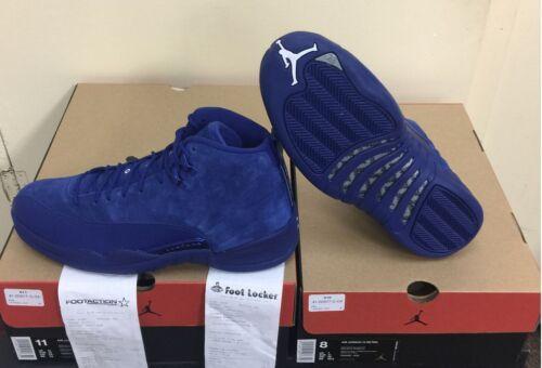 aut 12 400 130690 Deep Jordan Retro Nike Air Royal Blue Xii Suede wqvBWPxU