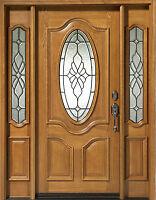 Mahogany Exterior Door With Sidelights N 200 Mystic 6 8 Ebay