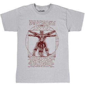 Grosses Soldes Marvel Comics Vitruvian Spiderman T-shirt