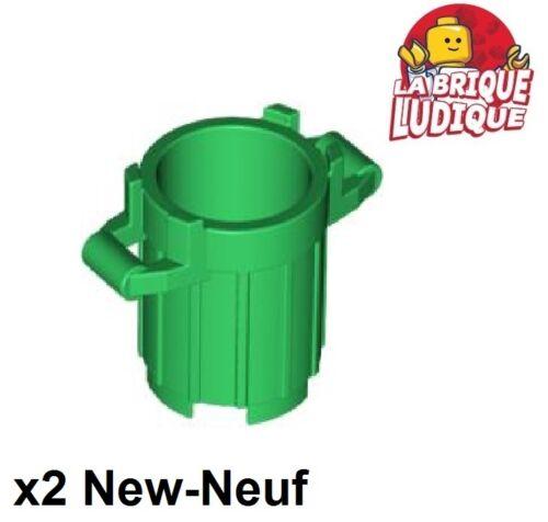 LEGO Bau- & Konstruktionsspielzeug 2x Container Müll trash can Müll grün/grün 92926 neu Lego LEGO Bausteine & Bauzubehör