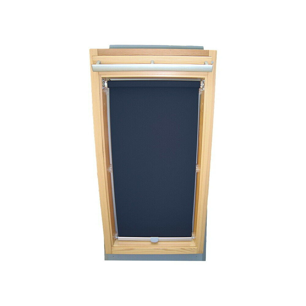 Abdunkelungsrollo Rollo Dachfensterrollo für Velux GGL GPL GPL GPL GHL - dunkelblau 3516b4