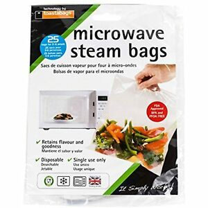 Planit Products, Bag Microwave Steam Bags, 1 Count