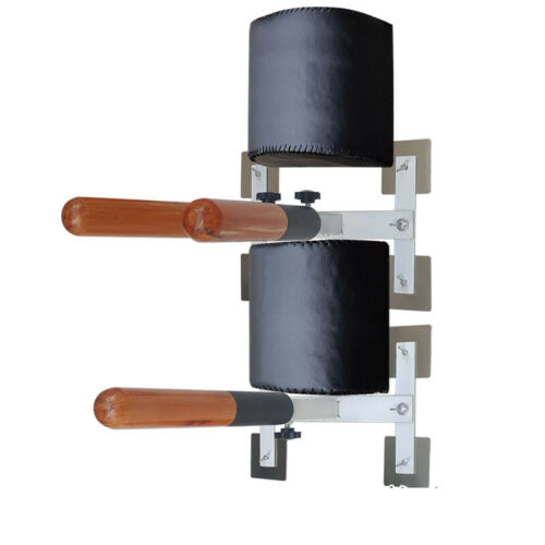 Home Martial Arts Wing Chun Training Device Simple Wall-Mounted Wooden Dummy