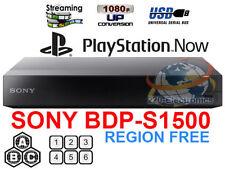 Sony BDP-S1500 Region free Blu Ray player Multi region bluray Smart A B C & 0-8