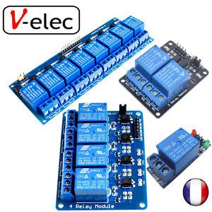 1196-Carte-relais-5v-Arduino-PIC-ARM-AVR-DSP-1-2-4-8-relais-au-choix-relay