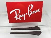 Authentic Rayban Ear Socks/ Temple Tips For Eye Glasses Rb 6337 Brown
