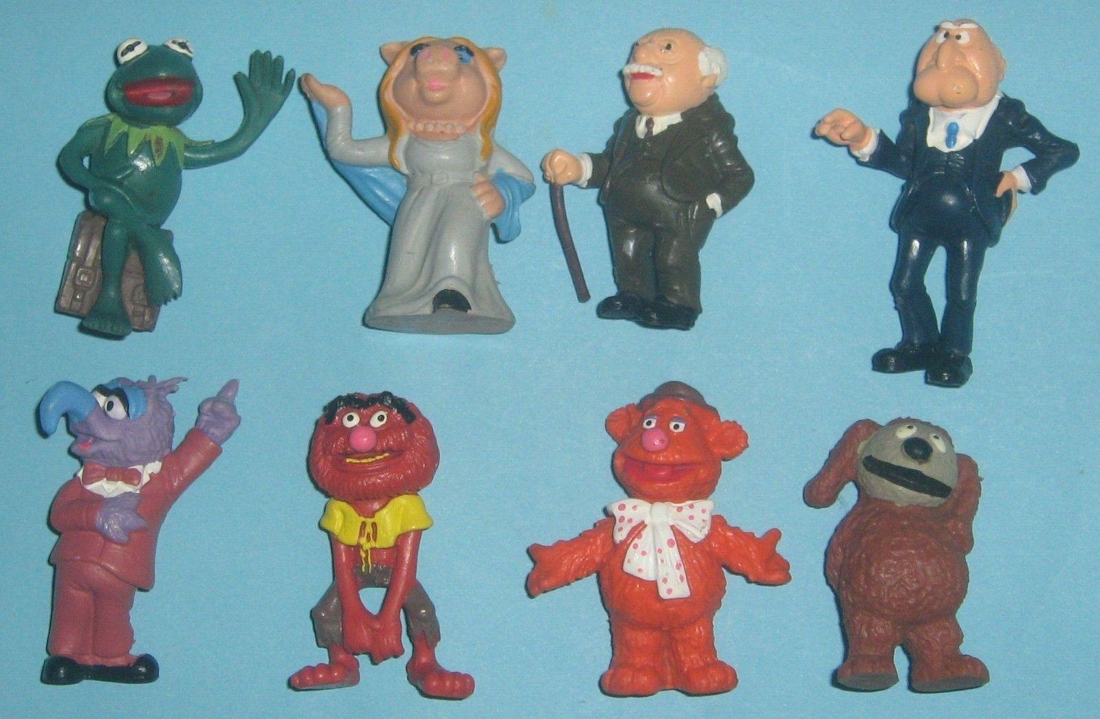 8 zahlen pvc muppet show schleich spielzeug - 1978