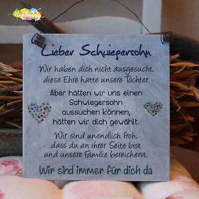 Shabby Style - Lieber Schwiegersohn (WIR) - Geschenk