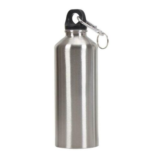 Portable Aluminum Travel Outdoor Bicycle Sport Water Bottle Case Drinking Kettle