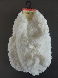 Damen Fleece Hausschuhe mit Bommeln Rosa