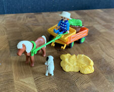 1524 Playmobil Spare Part Small Horse Whip Farm Stable Wagon
