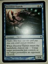 4 PLAYED Deceiver Exarch Blue New Phyrexia Mtg Magic Uncommon 4x x4