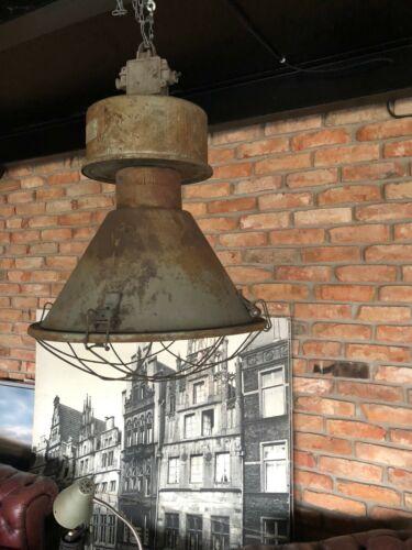 LOFT Lampe Glocke ROST Gastro Industrie Industrielampe Beleuchtung Restaurant