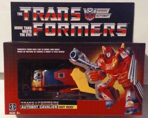 Transformers Generation One G1 Reissue Walmart Exclusive Hot Rod New MISB