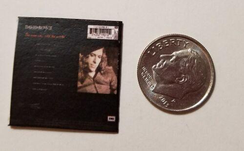 "Miniature record Album Barbie  1//12  1/""  Dollhouse David Bowie  Man World"