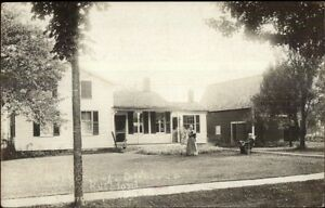 Rushford-NY-Weaver-Residence-c1910-Real-Photo-Postcard