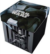 Sitzhocker  Aufbewahrungsbox  Spielzeugkiste Toy Organizer Disney Star Wars