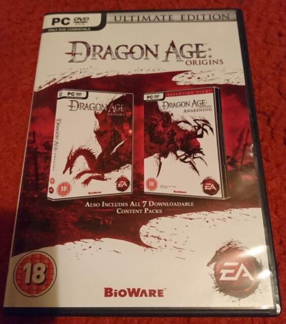 Dragon Age: Origins (PC:DVD Windows) EXCELLENT CONDITION & COMPLETE