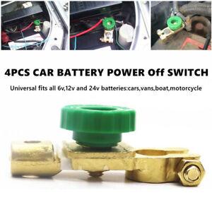 Car Truck Battery Quick Cut-off Disconnect Master Link Terminal Kill Shut Switch