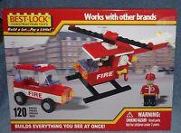 Best-lock Building Set 2010 Fire Rescue Building Set 120 Pieces