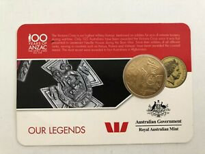 Australia-100-Years-Of-Anzac-2016-25-Cent-Coin-Our-Legends-3341856H