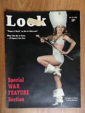 1939 Look Magazine Special War Feature WW II Sex Apeal in Sports Al Capone