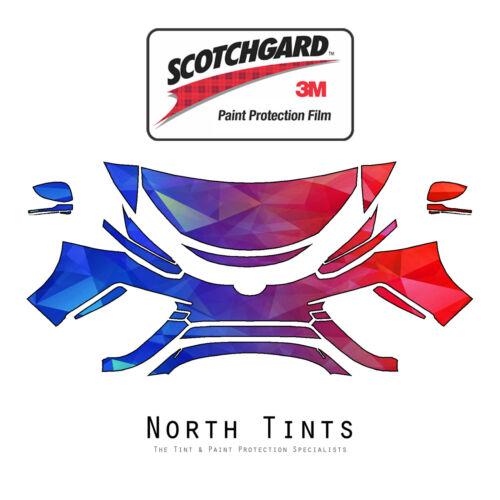 Toyota Mirai 2017 PreCut 3M Scotchgard Paint Protection Film Clear Bra Kit