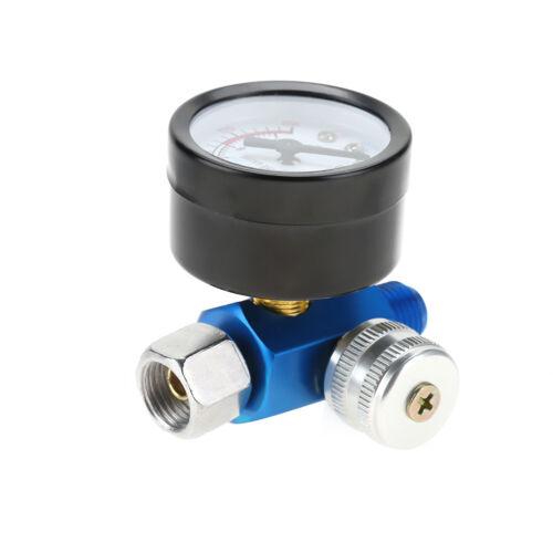 """1//4/""""Luftdruckregler Regelventil Manometer Kompressor 0-10BAR für Spritzpistole"""
