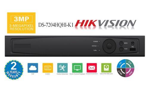 TVI 4CH Hybrid DVR HD-TVI 960H// IP 3MP Hikvision OEM AR324-4 HD-AHD