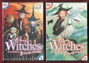 Tweeny-Witches-el-Aventuras-por-3-Giovani-Streghe-1-8-DVD-Nuevos-Playpress