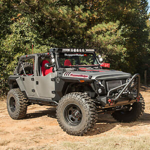 Image Is Loading Rugged Ridge Xhd Armor Fenders And Liner Kit