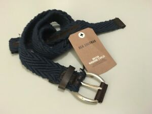 New-Ben-Sherman-Woven-Cord-Belt-Bnwt-Designer-Belt-Medium-32-34-Designer-29-Y8
