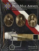 Blue Max Airmen - Vol 2 :german Airmen Awarded The Pour Le Merite Sb Book