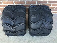 TWO ITP Mud Lite SP ATV Tire Kit- PAIR  (2) 20x11-9  20x11x9 6 Ply Sport ATV Set