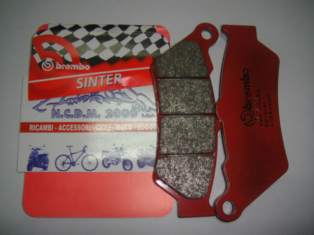Brake Pads BREMBO Red Front BMW F 650 GS 01 > 07BB03SA